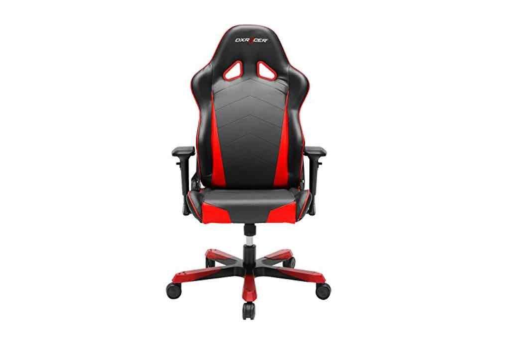 DXRacer asiento de juego Tank Gaming Chair, negro/rojo