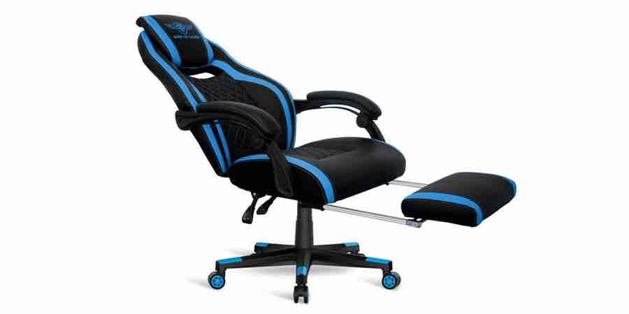 Silla Spirit of Gamer, carrefour silla gamer, silla racing gaming carrefour, escritorios juveniles carrefour