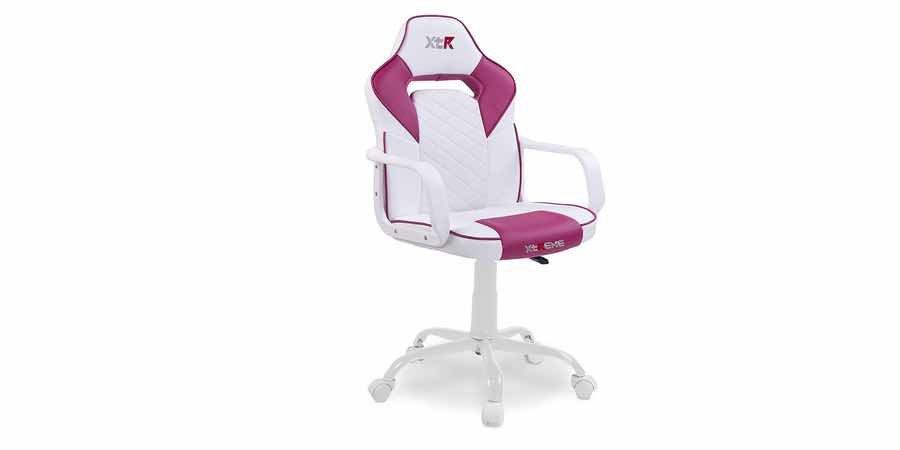 sillas gamer rosa, escritorio gamer rosa, silla rosa gamer, sill agamer rosa autofull, mesa gamer rosa,