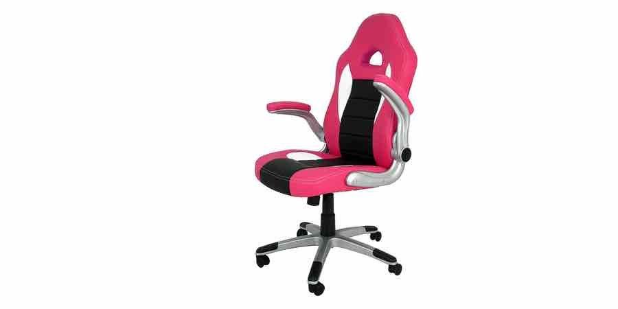 comprar silla gamer rosa La española sepulveda, mesa de escritorio rosa